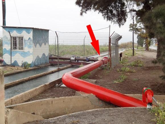 Защита от накипи водовода Ду400