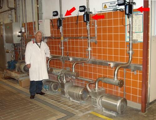 Защита от накипи оборудования завода Ридель, Голландия