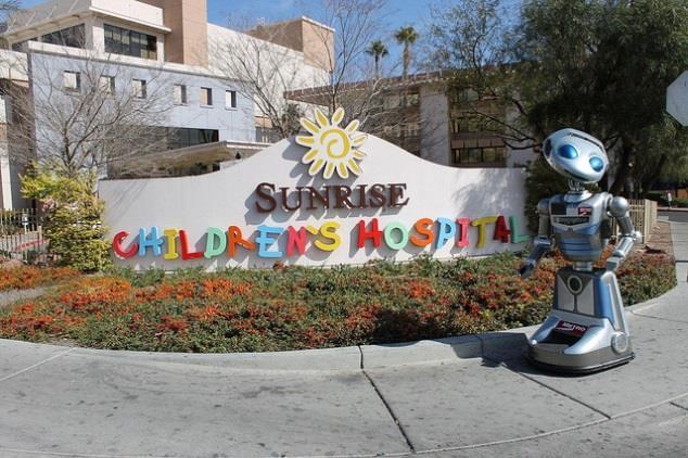 Защита от накипи градирни детского госпиталя Санрайз